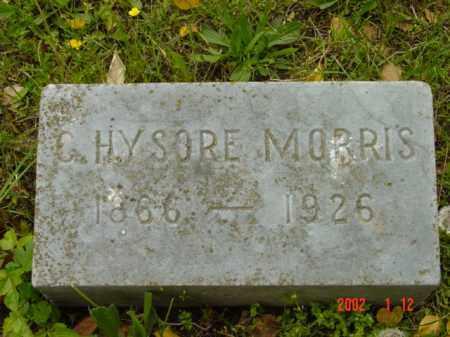 MORRIS, C. HYSORE - Talbot County, Maryland   C. HYSORE MORRIS - Maryland Gravestone Photos