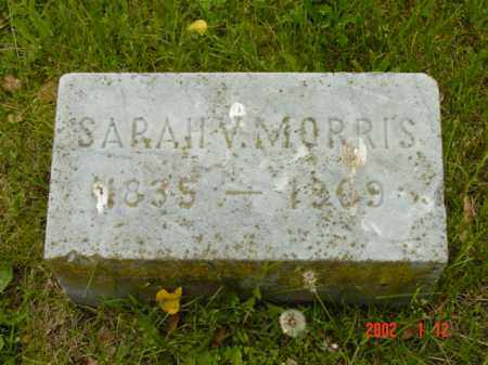 MORRIS, SARAH V. - Talbot County, Maryland | SARAH V. MORRIS - Maryland Gravestone Photos