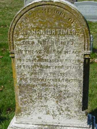 MORTIMER, JOHN R. - Talbot County, Maryland   JOHN R. MORTIMER - Maryland Gravestone Photos