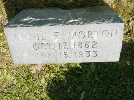 MORTON, ANNIE E. - Talbot County, Maryland | ANNIE E. MORTON - Maryland Gravestone Photos