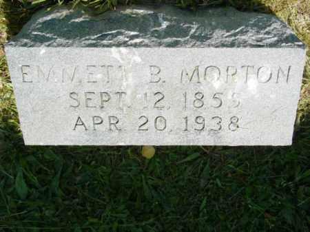 MORTON, EMMETT B. - Talbot County, Maryland | EMMETT B. MORTON - Maryland Gravestone Photos