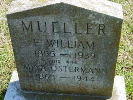 MUELLER, MINA - Talbot County, Maryland   MINA MUELLER - Maryland Gravestone Photos
