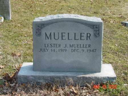 MUELLER, LESTER J. - Talbot County, Maryland | LESTER J. MUELLER - Maryland Gravestone Photos