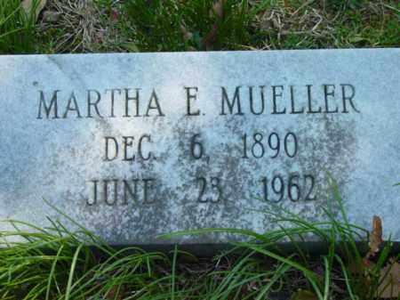 MUELLER, MARTHA E. - Talbot County, Maryland   MARTHA E. MUELLER - Maryland Gravestone Photos