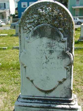 MULLIKIN, EMILY EUPHEMIA - Talbot County, Maryland | EMILY EUPHEMIA MULLIKIN - Maryland Gravestone Photos