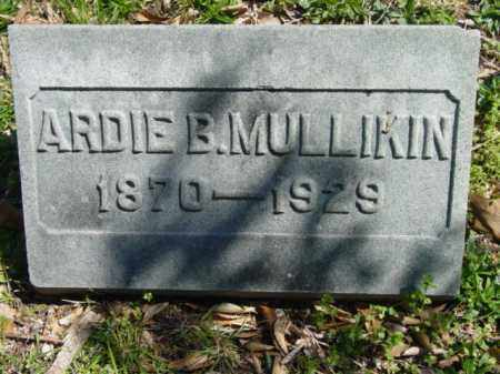 MULLIKIN, ARDIE B. - Talbot County, Maryland | ARDIE B. MULLIKIN - Maryland Gravestone Photos