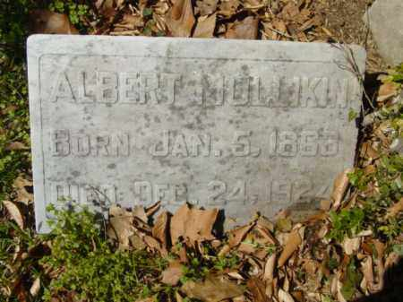 MULLIKIN, ALBERT - Talbot County, Maryland | ALBERT MULLIKIN - Maryland Gravestone Photos