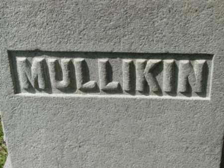 MULLIKIN, FAMILY STONE - Talbot County, Maryland   FAMILY STONE MULLIKIN - Maryland Gravestone Photos