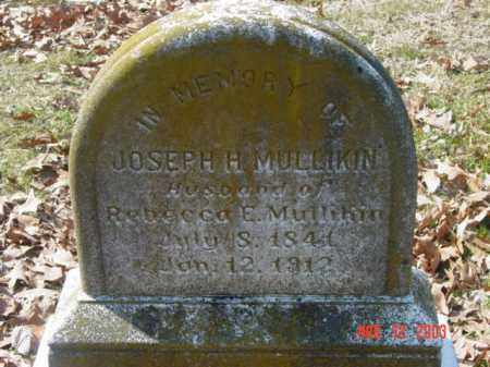 MULLIKIN, JOSEPH H. - Talbot County, Maryland | JOSEPH H. MULLIKIN - Maryland Gravestone Photos