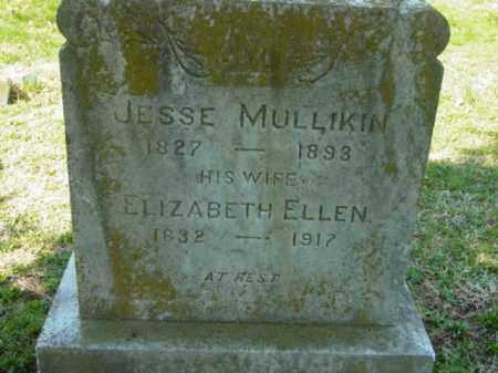 MULLIKIN, JESSE - Talbot County, Maryland | JESSE MULLIKIN - Maryland Gravestone Photos