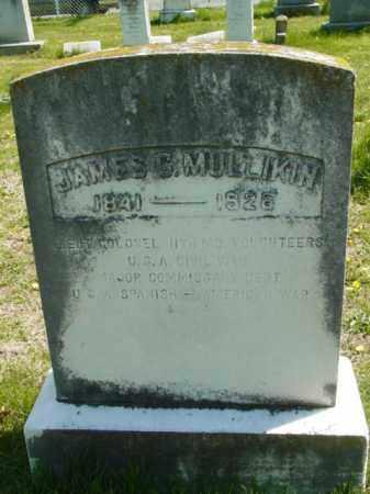 MULLIKIN, JAMES C. - Talbot County, Maryland | JAMES C. MULLIKIN - Maryland Gravestone Photos