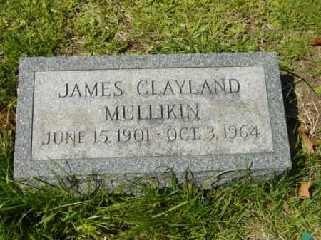 MULLIKIN, JAMES CLAYLAND - Talbot County, Maryland | JAMES CLAYLAND MULLIKIN - Maryland Gravestone Photos