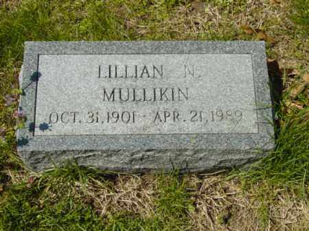 MULLIKIN, LILLIAN N. - Talbot County, Maryland | LILLIAN N. MULLIKIN - Maryland Gravestone Photos