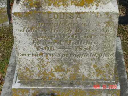 MULLIKIN, LOUISA - Talbot County, Maryland | LOUISA MULLIKIN - Maryland Gravestone Photos