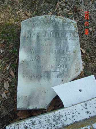 MULLIKIN, MARY J. - Talbot County, Maryland   MARY J. MULLIKIN - Maryland Gravestone Photos