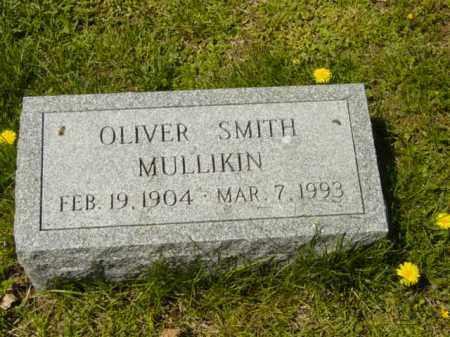 MULLIKIN, OLIVER SMITH - Talbot County, Maryland | OLIVER SMITH MULLIKIN - Maryland Gravestone Photos