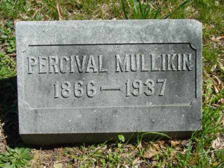 MULLIKIN, PERCIVAL - Talbot County, Maryland | PERCIVAL MULLIKIN - Maryland Gravestone Photos