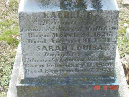MULLIKIN, SARAH LOUISA - Talbot County, Maryland | SARAH LOUISA MULLIKIN - Maryland Gravestone Photos