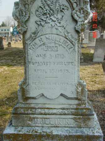 MULLIKIN, WILLIAM  N. - Talbot County, Maryland | WILLIAM  N. MULLIKIN - Maryland Gravestone Photos