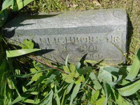 NEIGHBORS JR., ALGA - Talbot County, Maryland   ALGA NEIGHBORS JR. - Maryland Gravestone Photos