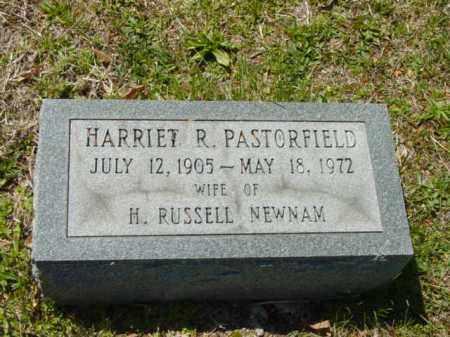 PASTORFIELD NEWMAN, HARRIET R. - Talbot County, Maryland | HARRIET R. PASTORFIELD NEWMAN - Maryland Gravestone Photos