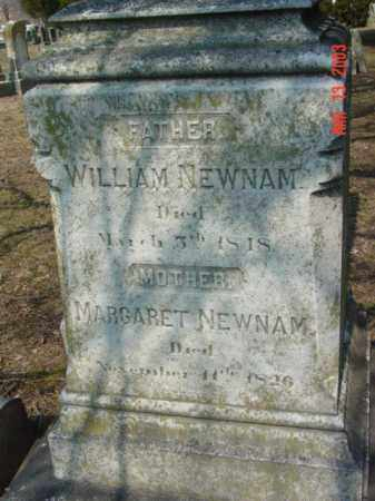 NEWNAM, WILLIAM - Talbot County, Maryland | WILLIAM NEWNAM - Maryland Gravestone Photos
