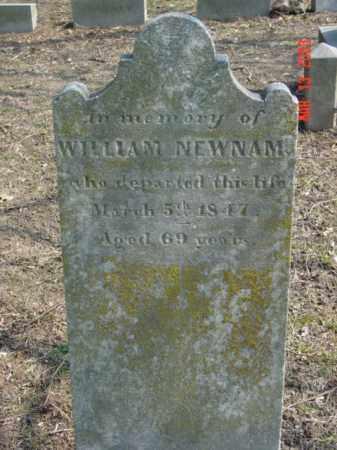 NEWNAM, WILLIAM - Talbot County, Maryland   WILLIAM NEWNAM - Maryland Gravestone Photos