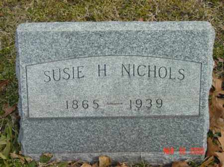 NICHOLS, SUSIE H. - Talbot County, Maryland   SUSIE H. NICHOLS - Maryland Gravestone Photos