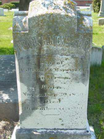 NICKERSON, FRANK H. - Talbot County, Maryland | FRANK H. NICKERSON - Maryland Gravestone Photos