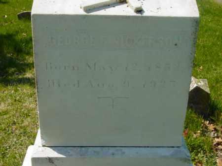 NICKERSON, GEORGE - Talbot County, Maryland | GEORGE NICKERSON - Maryland Gravestone Photos