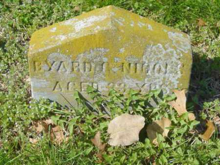 NICOLS, BYARD G. - Talbot County, Maryland | BYARD G. NICOLS - Maryland Gravestone Photos