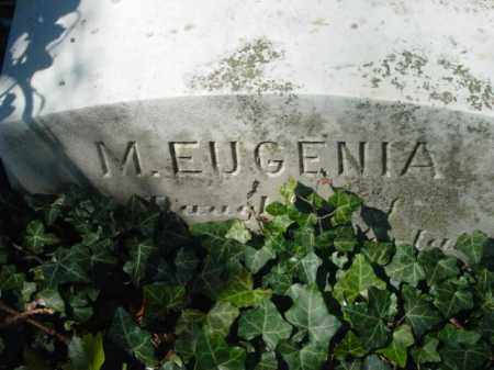 NICOLS, M. EUGENIA - Talbot County, Maryland | M. EUGENIA NICOLS - Maryland Gravestone Photos