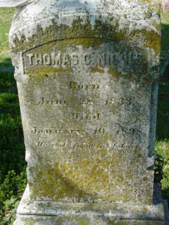 NICOLS, THOMAS C. - Talbot County, Maryland | THOMAS C. NICOLS - Maryland Gravestone Photos