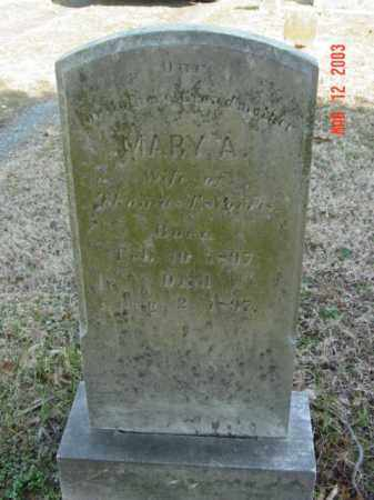 NORRIS, MARY A. - Talbot County, Maryland | MARY A. NORRIS - Maryland Gravestone Photos