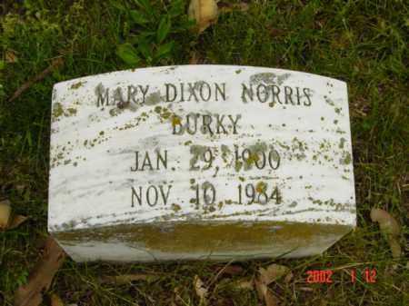NORRIS, MARY - Talbot County, Maryland | MARY NORRIS - Maryland Gravestone Photos