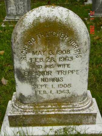 NORRIS, RICHARD THATCHER - Talbot County, Maryland | RICHARD THATCHER NORRIS - Maryland Gravestone Photos