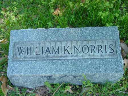 NORRIS, WILLIAM K. - Talbot County, Maryland | WILLIAM K. NORRIS - Maryland Gravestone Photos