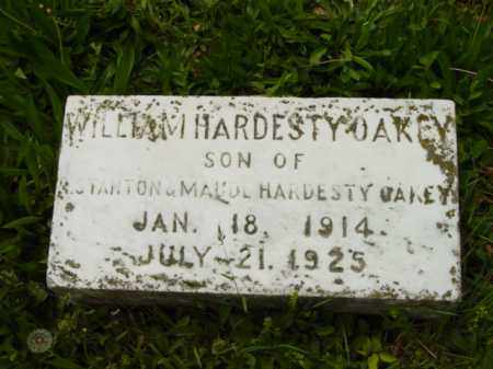 OAKEY, WILLIAM HARDESTY - Talbot County, Maryland   WILLIAM HARDESTY OAKEY - Maryland Gravestone Photos