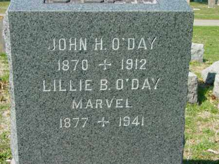 O'DAY, JOHN H. - Talbot County, Maryland | JOHN H. O'DAY - Maryland Gravestone Photos