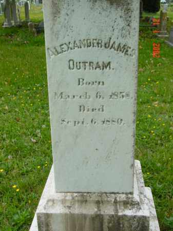 OUTRAM, ALEXANDER JAMES - Talbot County, Maryland   ALEXANDER JAMES OUTRAM - Maryland Gravestone Photos