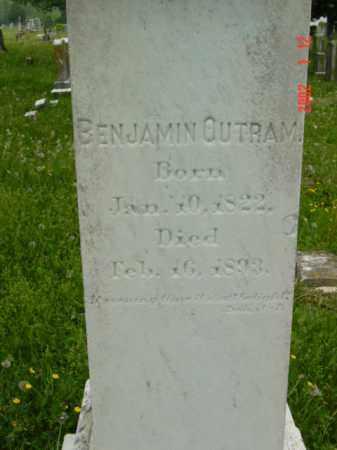OUTRAM, BENJAMIN - Talbot County, Maryland | BENJAMIN OUTRAM - Maryland Gravestone Photos