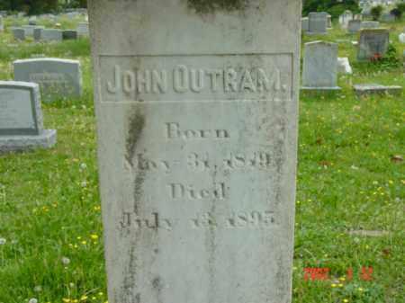 OUTRAM, JOHN - Talbot County, Maryland | JOHN OUTRAM - Maryland Gravestone Photos