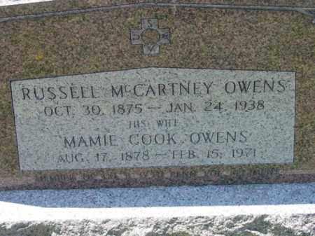 OWENS, MAMIE - Talbot County, Maryland   MAMIE OWENS - Maryland Gravestone Photos