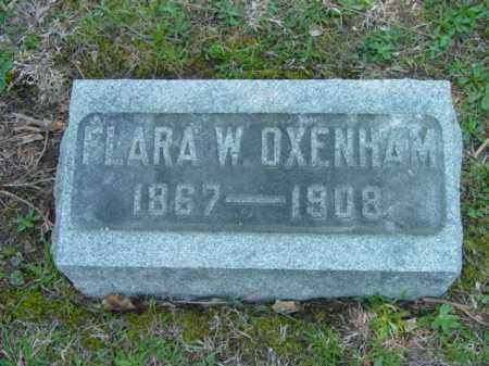 OXENHAM, FLARA W. - Talbot County, Maryland | FLARA W. OXENHAM - Maryland Gravestone Photos