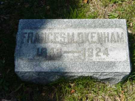 OXENHAM, FRANCES M. - Talbot County, Maryland | FRANCES M. OXENHAM - Maryland Gravestone Photos
