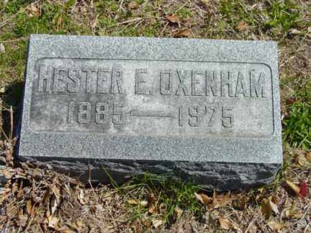 OXENHAM, HESTER E. - Talbot County, Maryland | HESTER E. OXENHAM - Maryland Gravestone Photos