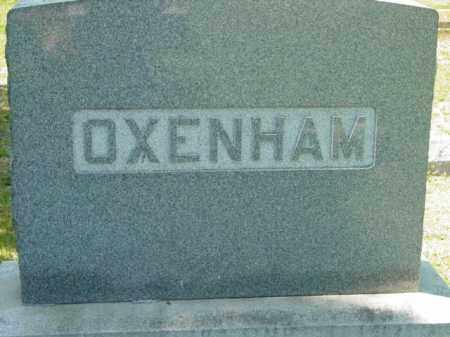 OXENHAM, MONUMENT - Talbot County, Maryland | MONUMENT OXENHAM - Maryland Gravestone Photos