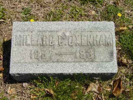 OXENHAM, MILLARD B. - Talbot County, Maryland | MILLARD B. OXENHAM - Maryland Gravestone Photos