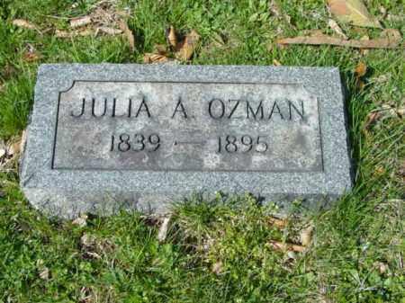 OZMAN, JULIA A. - Talbot County, Maryland   JULIA A. OZMAN - Maryland Gravestone Photos