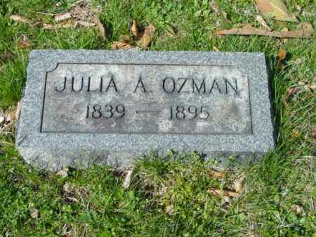 OZMAN, JULIA A. - Talbot County, Maryland | JULIA A. OZMAN - Maryland Gravestone Photos